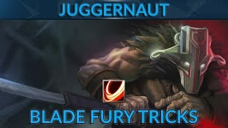 What you didn't know about Juggernaut's Blade Fury | Dota 2 Juggernaut Guide