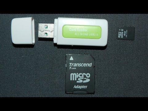 Недорогой универсальный USB картридер 4 в 1 для карт памяти M2, MS, MicroSD, SDHC - обзор, разборка