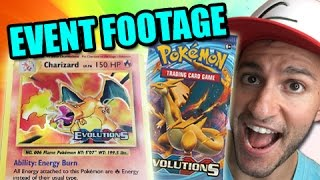 charizard is back pokemon xy evolutions tcg prerelease early booster packs opening