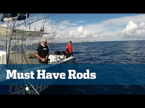 Florida Sport Fishing TV - Pro's Tip Proper Rod Selection Tackle Tips Inshore Offshore