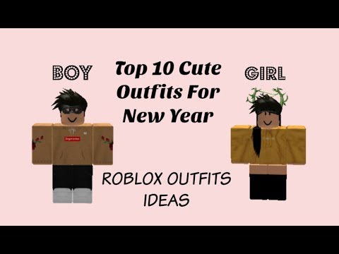 Roblox 10 Awesome Outfits For Boys And Girls Youtube