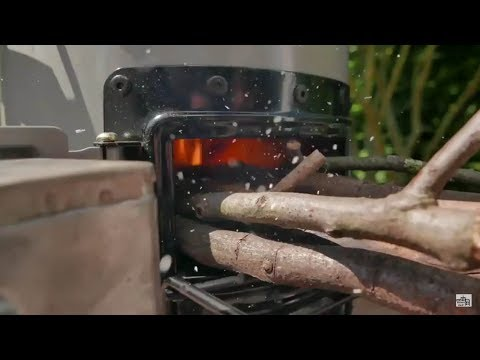 EcoZoom Versa Raketenofen - Grillshow Produktvorstellung + knuspriges Bacon