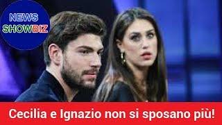 Cecilia Rodriguez e Ignazio Moser non si sposano più! la verità è stato esposto