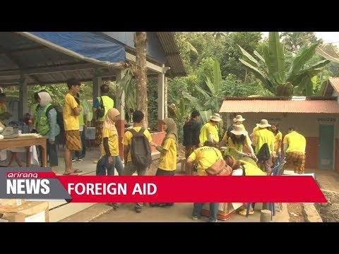 South Korea's overseas aid reaches US$2.2 bil. in 2017