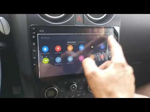 Nissan Qashqai Android ГУ автомагнитола