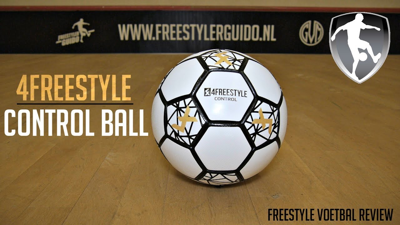 Leer Freestyle Voetbal: 4Freestyle Control ball review