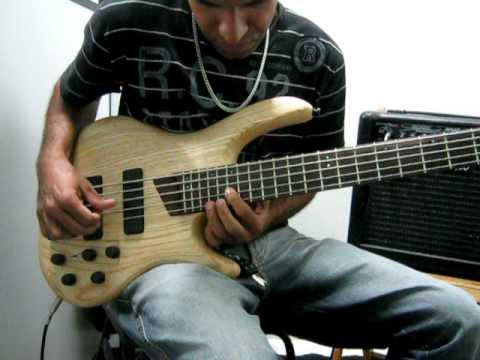 Roger Bass na loja Erick Reis Instrumentos ais