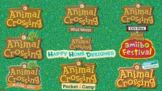 Animal Crossing- All Trailers (2001-2020)
