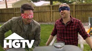 Bath Crashers: Blindfolded Food Challenge