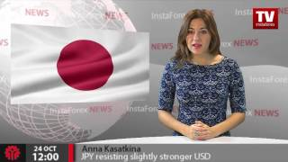 JPY resisting slightly stronger USD