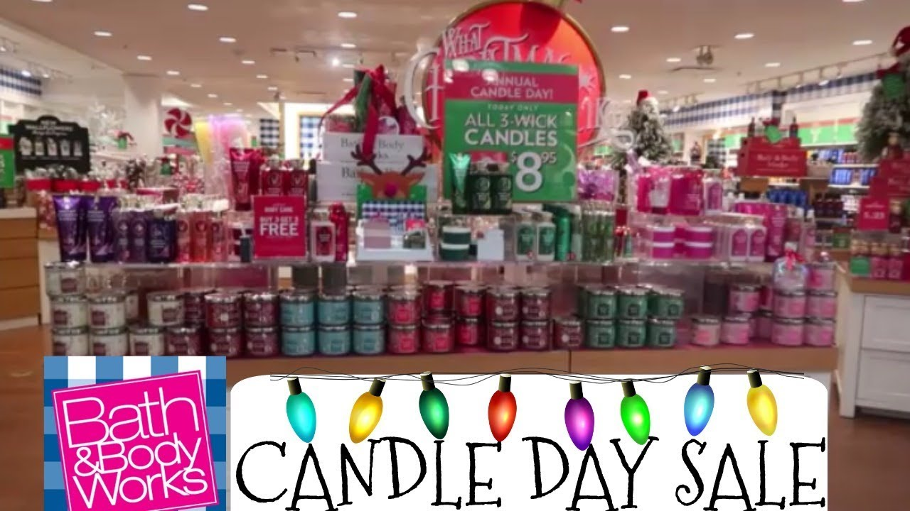 Bath & Body Works annual Candle Day sale returns Saturday with ...