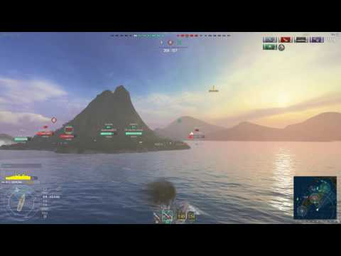 World of Warships- Coward of the County