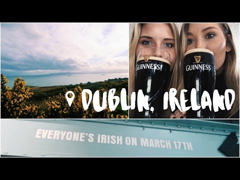 Dublin Ireland for St. Patrick's Day!!!! | Study Abroad Vlog