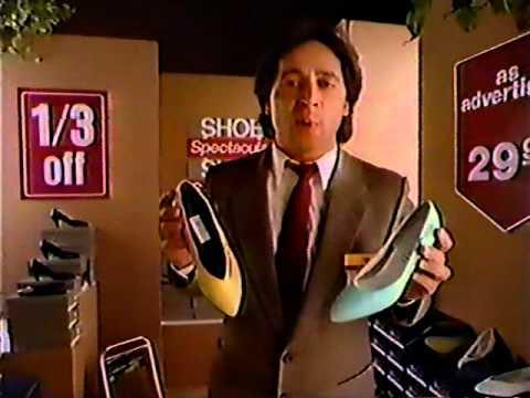 Tony Rosato for The Bay 1988 TV commercial