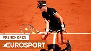 Johanna Konta vs Donna Vekic Highlights | Roland Garros 2019 Round 4 | Eurosport