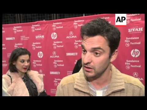 'New Girl' star Jake Johnson was at the Sundance Film Festival this week for his film 'Digging for F