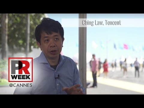 Ching Law, general manager, social & performance ads, Tencent