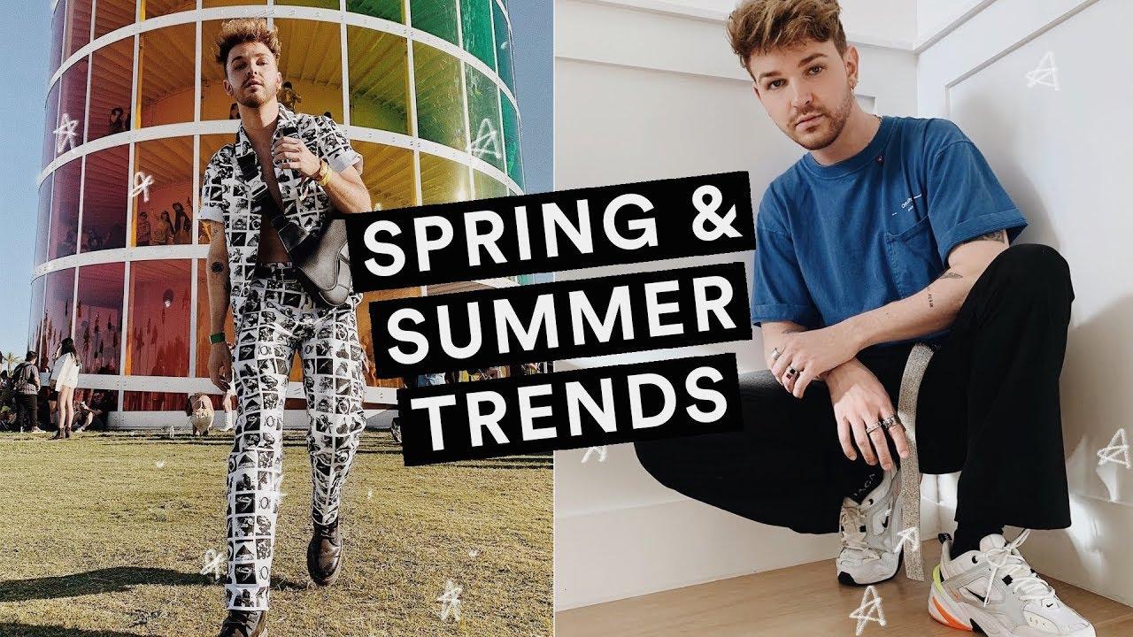 MENS SPRING + SUMMER FASHION TRENDS (2019) + Styling Tips // Imdrewscott