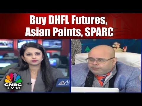 Buy DHFL Futures, Asian Paints, SPARC: Ashwani Gujral | TRADING HOUR | CNBC TV18