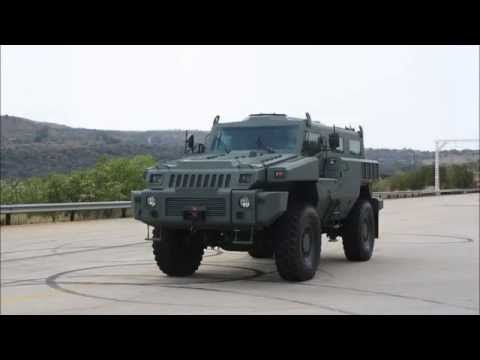 Marauder MPV Mine protected vehicle Paramount Group AAD 2012 Africa Aerospace Defence Exhibition
