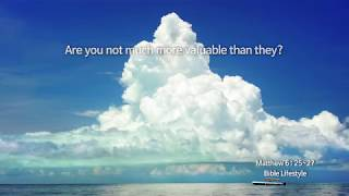 [The Bible Lifestyle with Shincheonji church] Matthew 6: 25~27