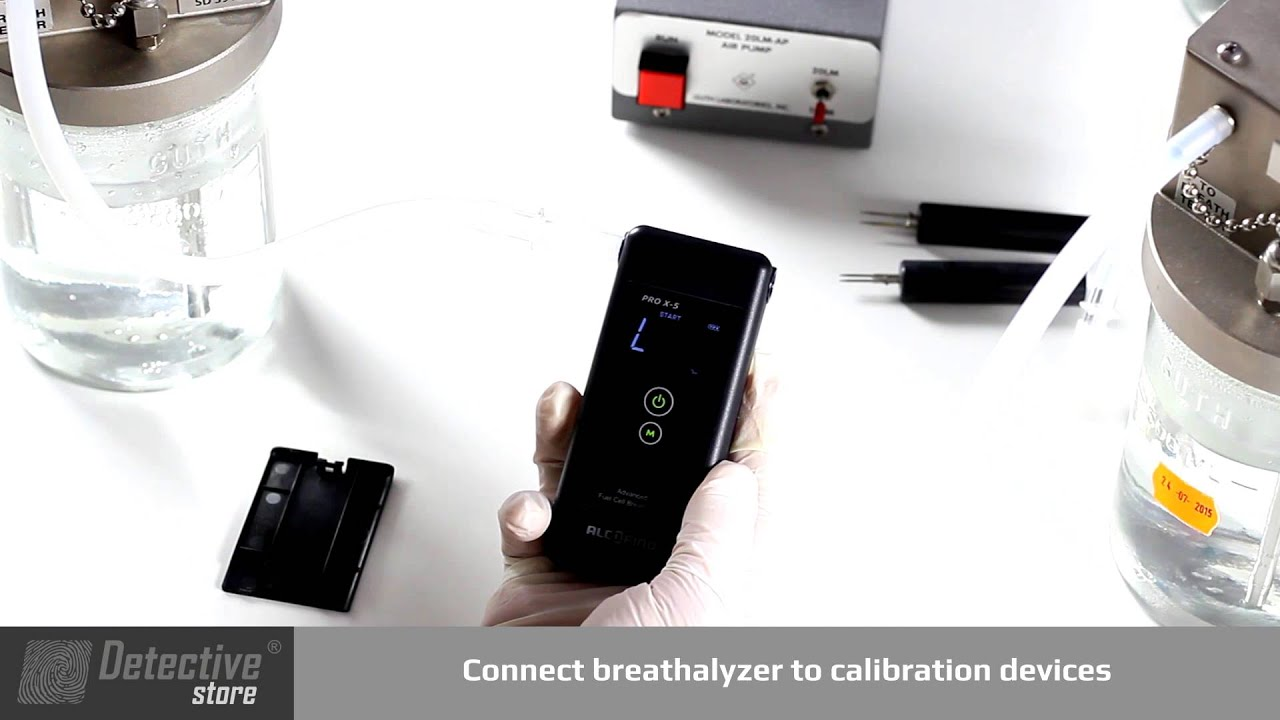 Breathalyzer Calibration - how to calibrate a breathalyzer