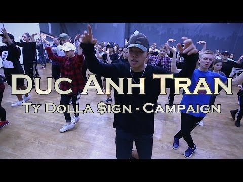 Duc Anh Tran || Ty Dolla $ign - Campaign || WWDC CONVENTION 2016 || Moscow