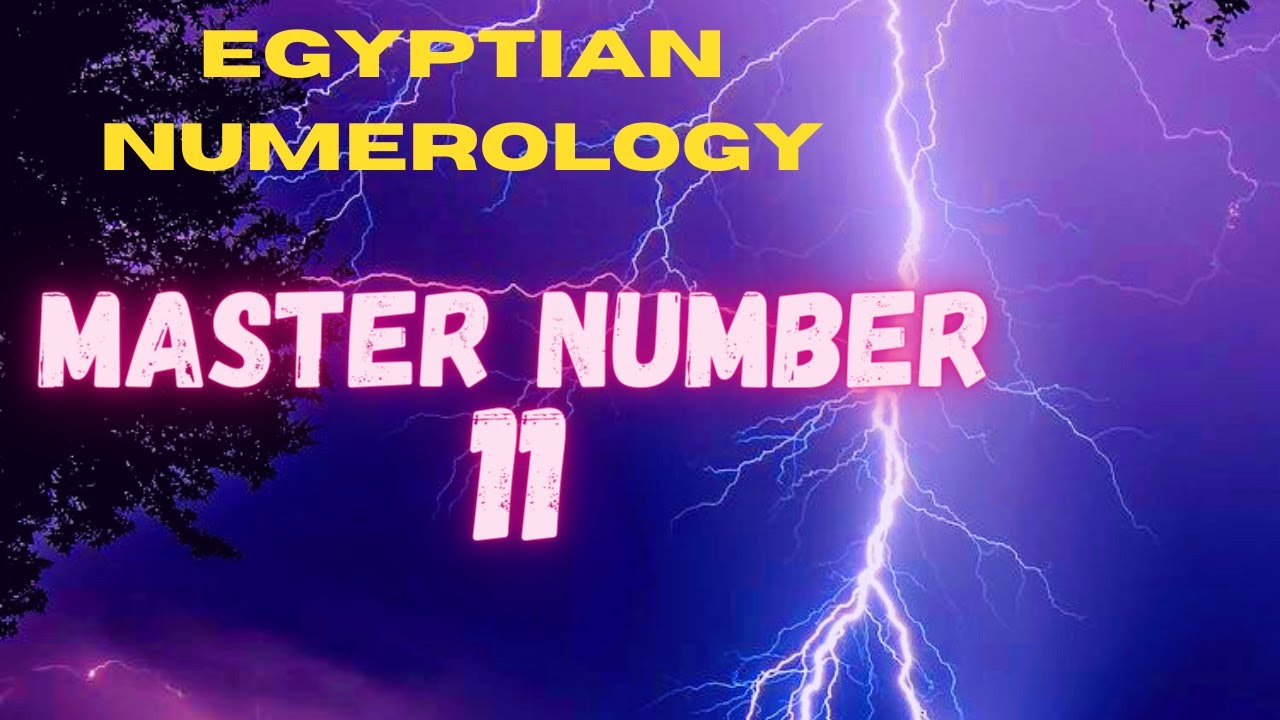 MASTER NUMBER 11 & THE WOUNDED HEALER IN EGYPTIAN NUMEROLOGY With Sara Bachmeier