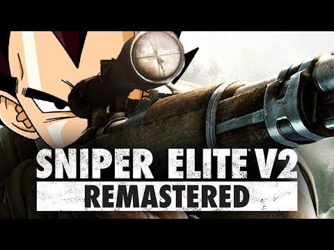 Sniper Saiyan Elite! | Vegeta Plays Sniper Elite V2 Remastered | Renegade For Life |