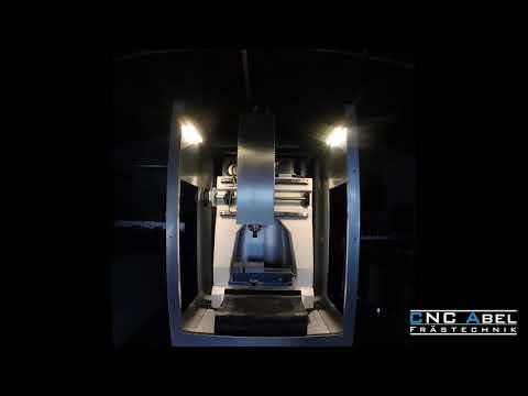 High speed CNC Fräse aus UHPC Beton
