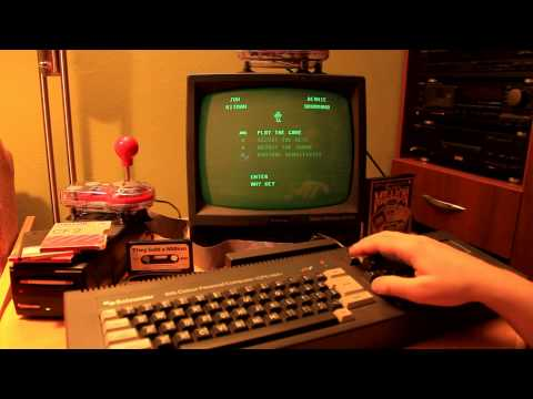 Real Amstrad-Schneider CPC 464 work and play
