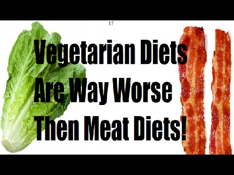 """Vegetarian Diet Is ""WAY WORSE"" For The Environment Than Meat Diet!"""