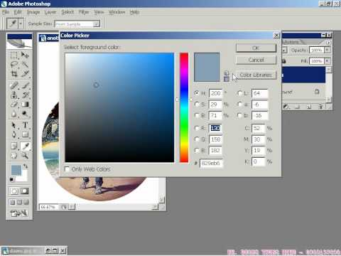 Photoshop CS2 - Phần 1- Bài 1 - Tạo nhãn đĩa CD