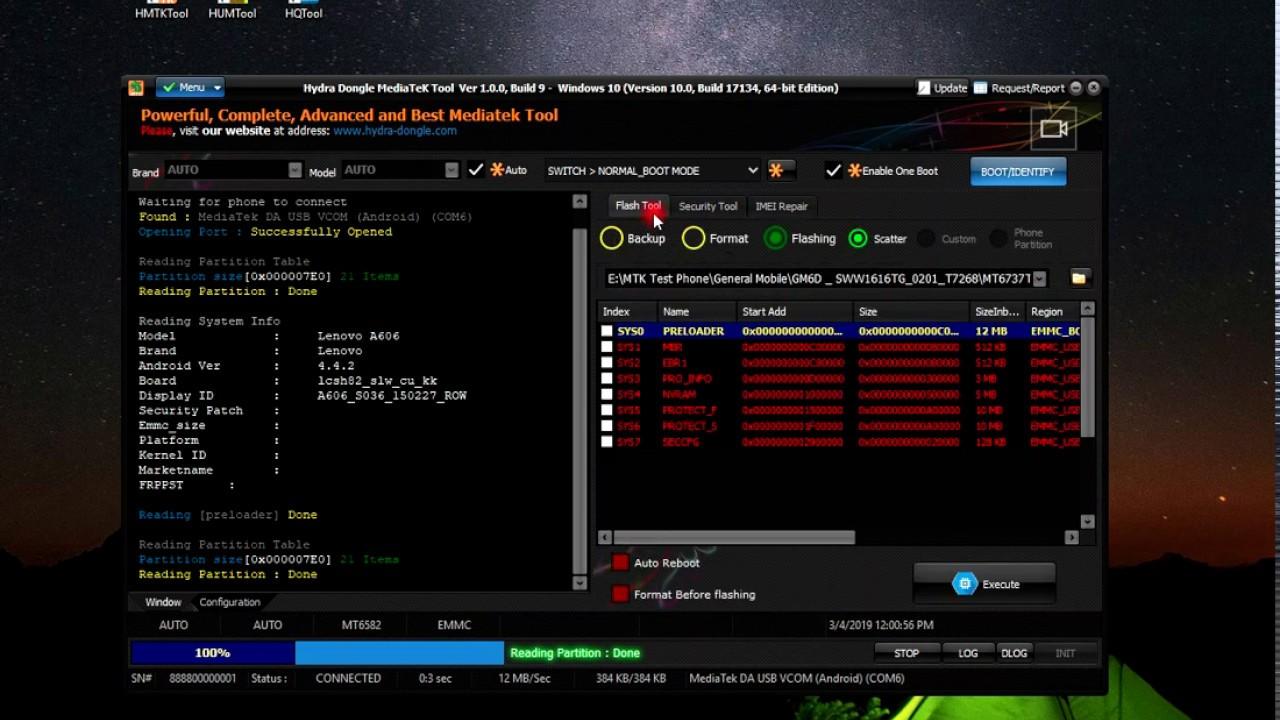 Hydra Tool Dongle + UMF Kablo Full Set