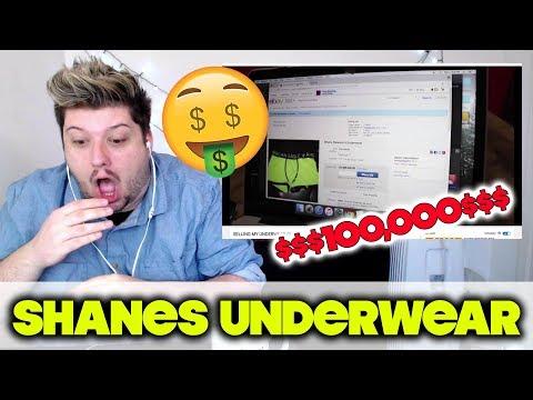 SELLING MY UNDERWEAR ON EBAY *$100,000* - Shane Dawson | REACTION!