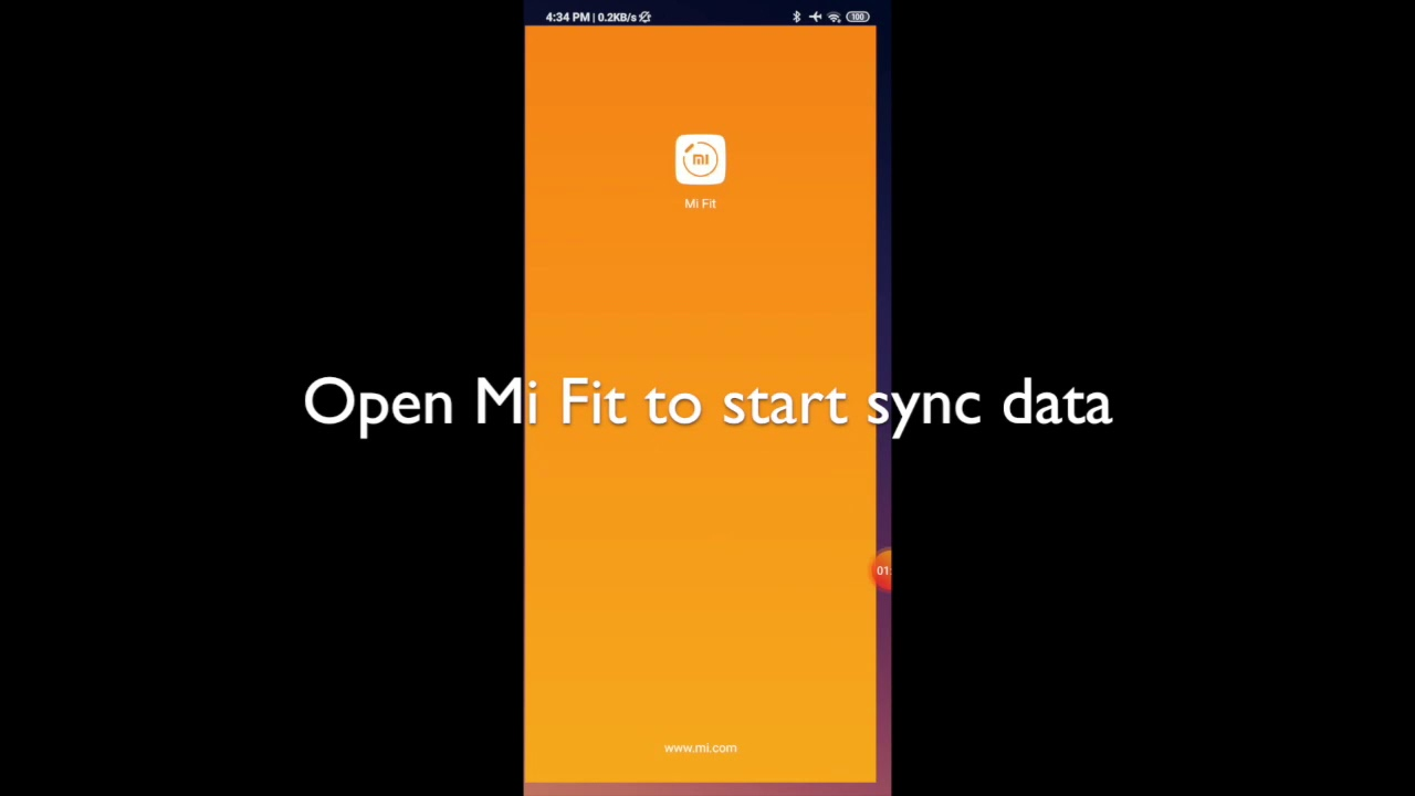 Notify: how to sync a workout when Mi Fit installed