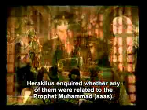 The letter sent to the Byzantine Emperor Heraklius by Prophet Muhammad