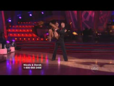 Nicole Scherzinger & Derek Hough - Dancing With The Stars - Argentine tango  Week 9