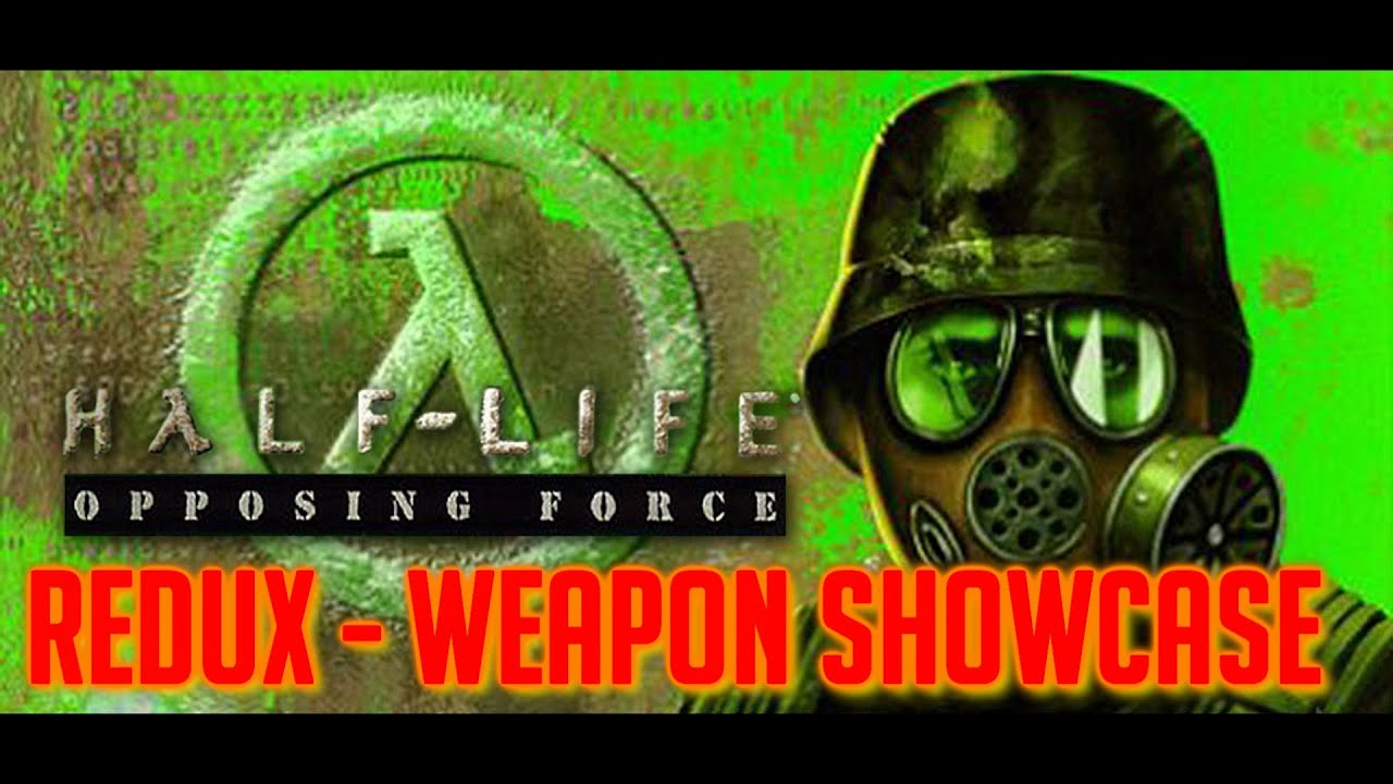 Download Half-Life: Opposing Force Redux - All Weapons Shown
