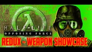 Half-Life: Opposing Force Redux - All Weapons Shown