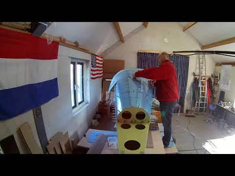 Van's RV-7 Build Fuselage Top Skin Drilling (109)