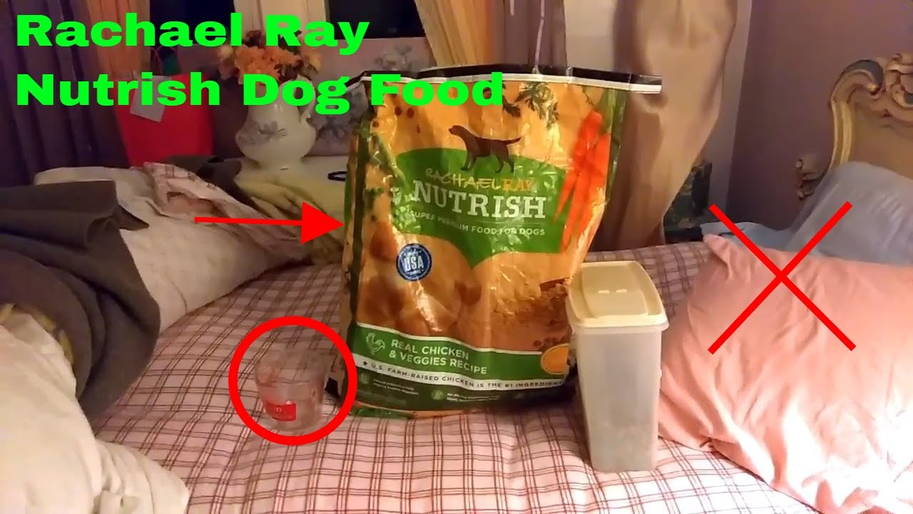 How To Use Rachael Ray Nutrish Dog Food Review Youtube