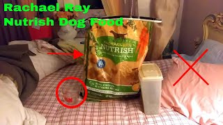 ✅ How To Use Rachael Ray Nutrish Dog Food Review