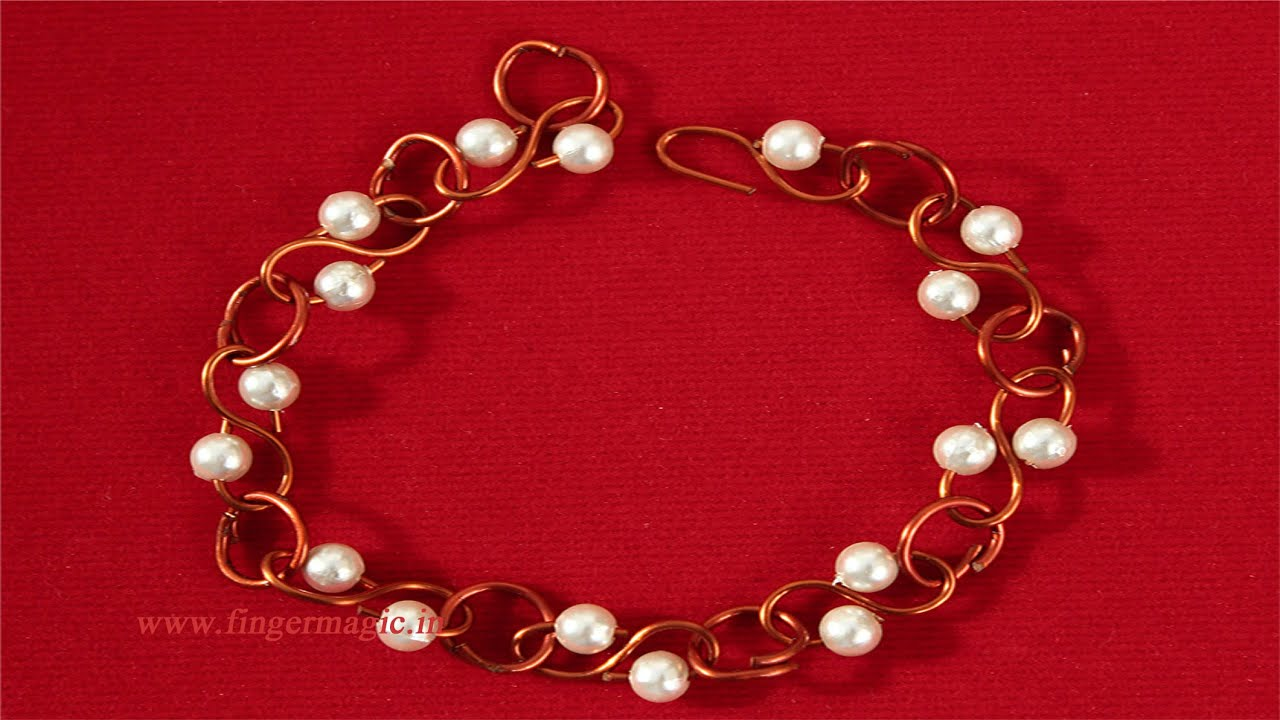 Wire Jewelry Bracelet - YouTube