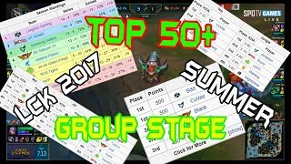 TOP 50+ Best Plays  - LCK Summer 2017 Group Stage