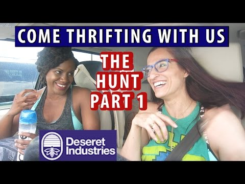 Spring Runway Inspired at Deseret Industries|PART 1|Come Thrifting With Us!|#ThriftersAnonymous