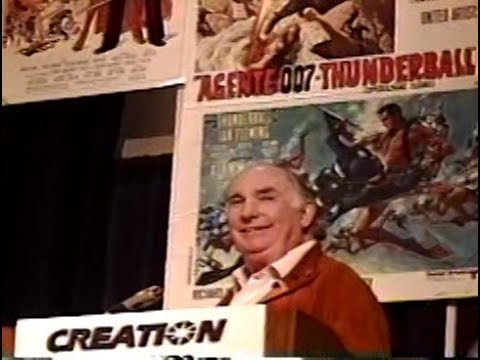 James Bond 1994 Convention with Peter Hunt - Oct  29, 1994