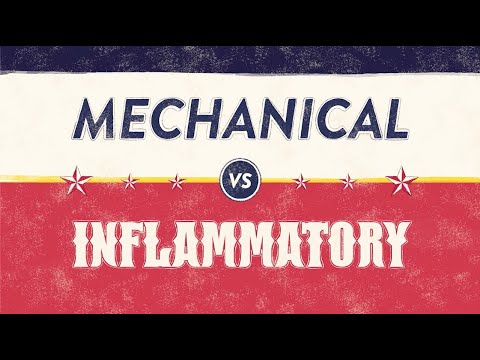When Is Back Pain Serious? Inflammatory vs Mechanical Back Pain