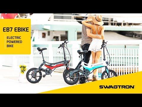 CRUISE THE CITY - Swagtron EB7 Folding Electric Bike