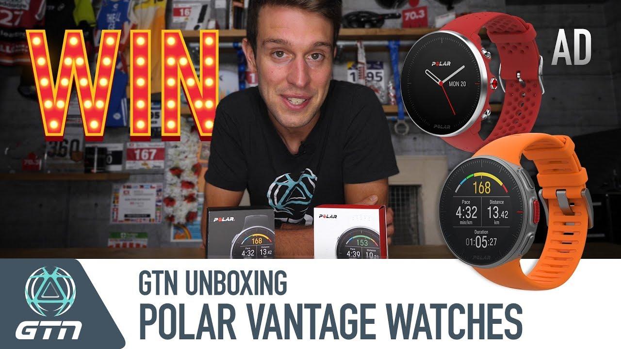 1527000f3 GTN Unboxing: NEW Polar Vantage Multisport Watches - YouTube
